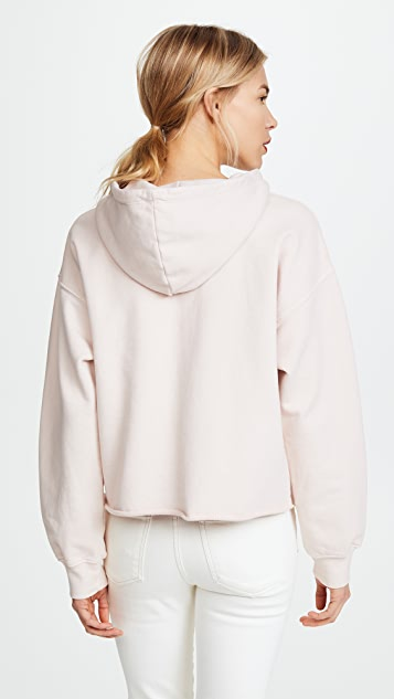 Current/Elliott The Cropped Hoodie