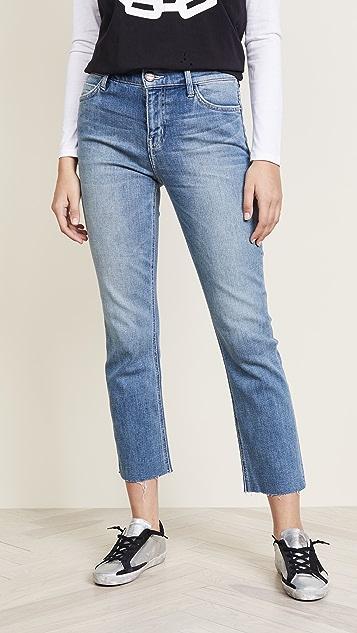 Current/Elliott The High Waist Straight Jeans