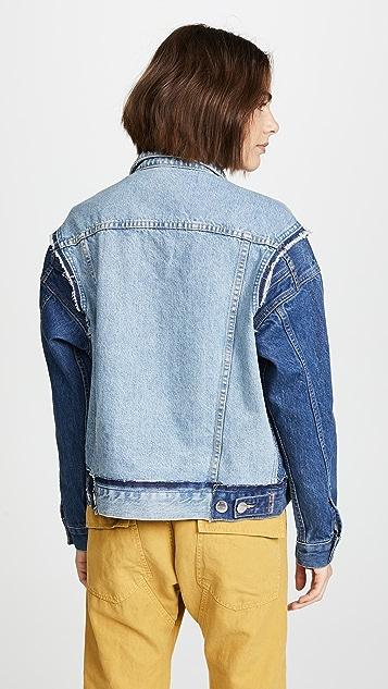 Current/Elliott The Carina Denim Jacket