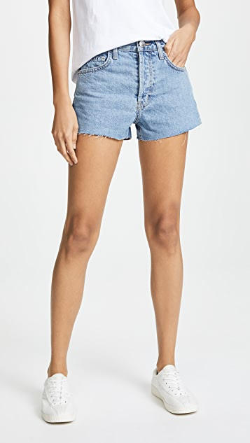 Current/Elliott The Ultra High Waist Shorts