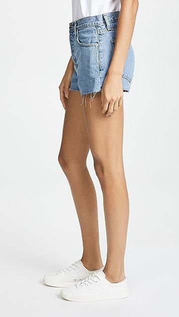 Current/Elliott The Ultra High Waist Shorts