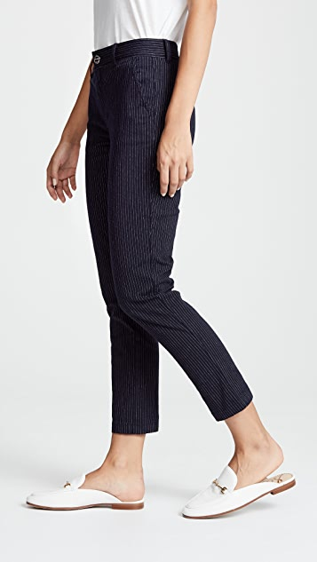 Current/Elliott The Confidant Pinstripe Trousers
