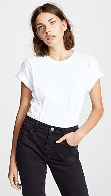 Current/Elliott The Pintucked Tee