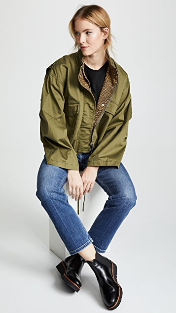 Current/Elliott The Cropped Infantry Jacket