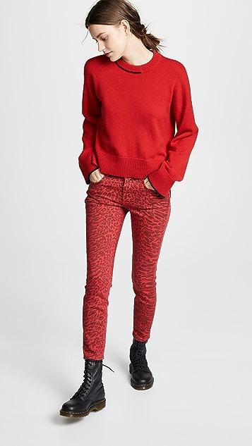Current/Elliott 小脚牛仔裤