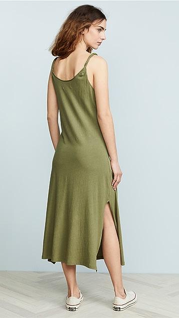 Current/Elliott Платье с перекрученной отделкой