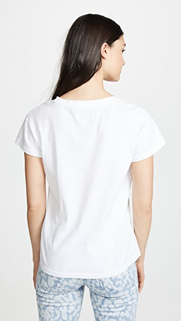 Current/Elliott Relaxed Crew Tee
