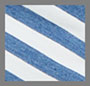 Blue Stripe with Bleach