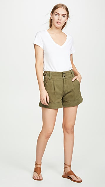 Current/Elliott The Relaxed Army Shorts