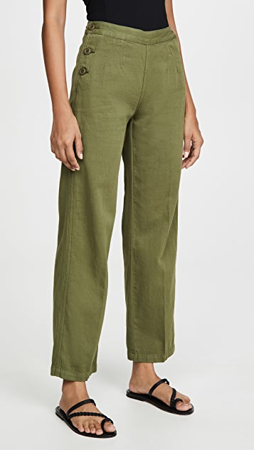 Current/Elliott The Military Cropped Camp Pants