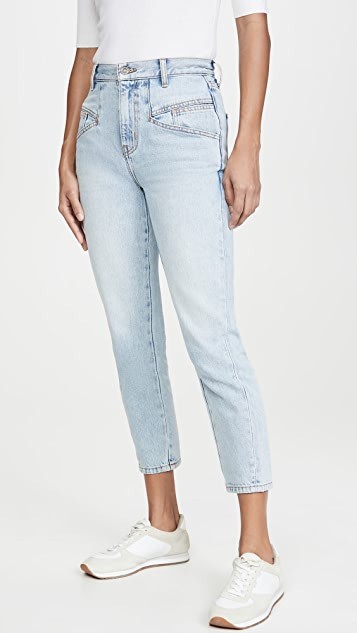 Current/Elliott The Helix Cropped Jeans