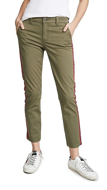 Current/Elliott The Side Stripe Confidant 长裤