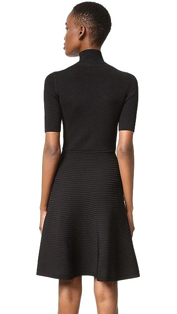 Cushnie Et Ochs Short Sleeve Knit Dress