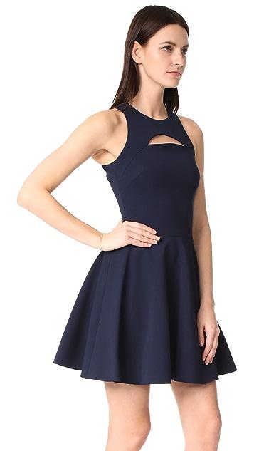 Cushnie Et Ochs Monica Sleeveless Flare Dress