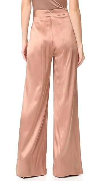 Cushnie Et Ochs High Waisted Wide Leg Pants