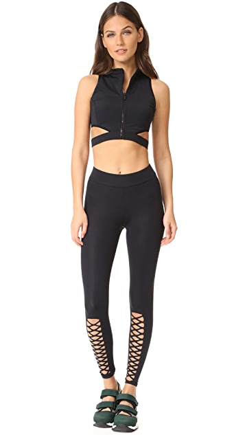 Cushnie Et Ochs Cutout Leggings