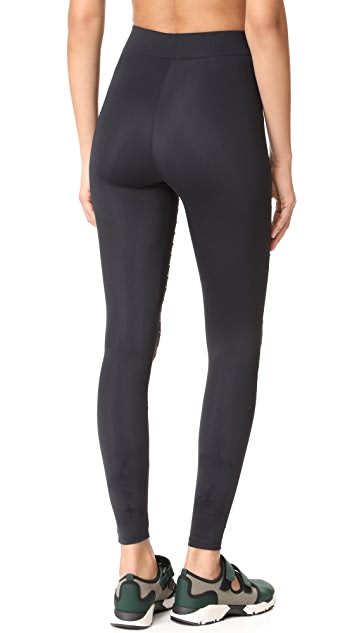 Cushnie Et Ochs Sliced Cutout Leggings
