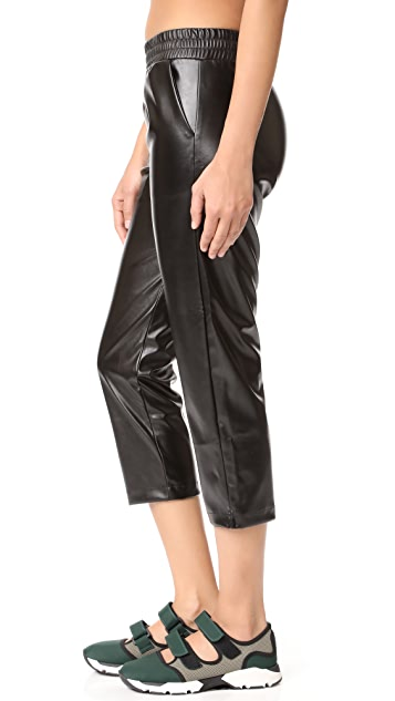 Cushnie Faux Leather Pants