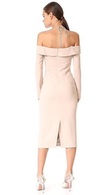 Cushnie Et Ochs Off Shoulder Pencil Dress