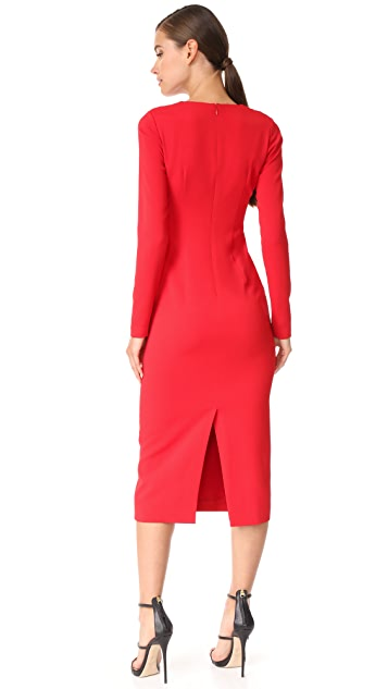 Cushnie Et Ochs Pencil Dress with Cowl