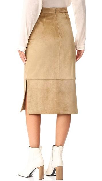 Cushnie Et Ochs Front Pocket Skirt
