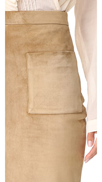 Cushnie Et Ochs Front Pocket Skirt