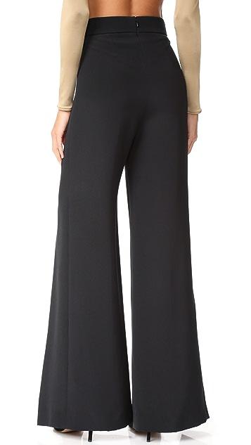 Cushnie Et Ochs High Waisted Pants with Slits