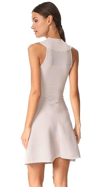 Cushnie Et Ochs Sleeveless Dress with Collar