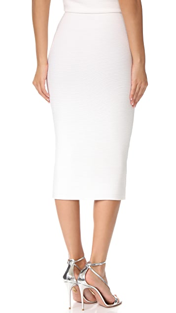 Cushnie Et Ochs Fitted Midi Skirt