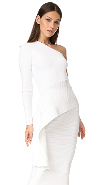 3d21a808248 Cushnie LS One Shoulder Top | SHOPBOP