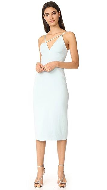 Cushnie Asymmetrical Strappy Dress