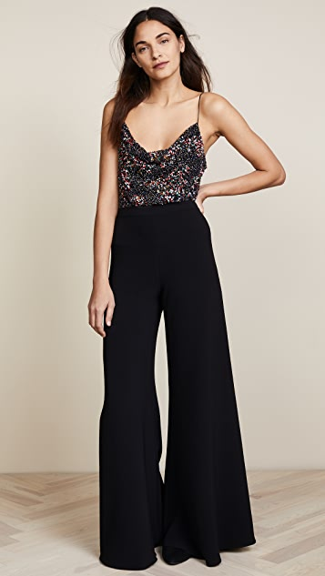 Cushnie Lenora Beaded Bodysuit