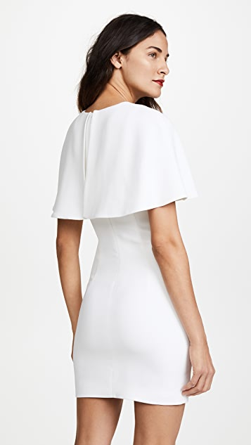 Cushnie Et Ochs Celia Mini Dress with Cape Sleeves