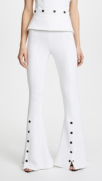Cushnie Emma Flare Pants