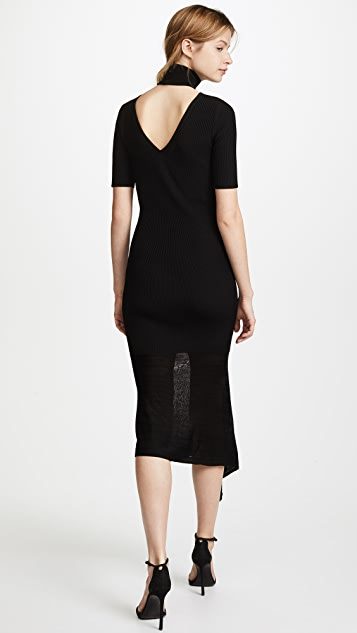 Cushnie Selima Short Sleeve Dress
