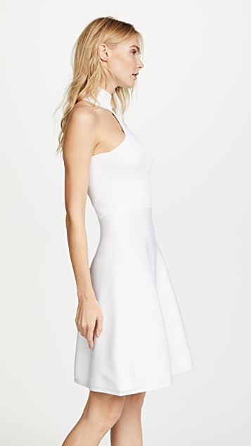 Cushnie Vika Mock Neck Dress