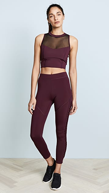 Cushnie Et Ochs Leyla High Waisted Leggings