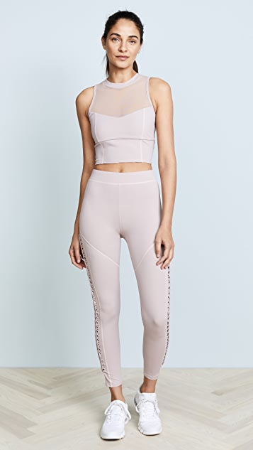 Cushnie Leyla High Waisted Leggings