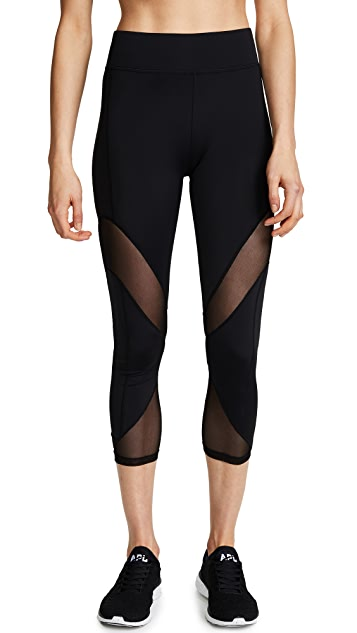 Cushnie Et Ochs Nuria Crop Leggings