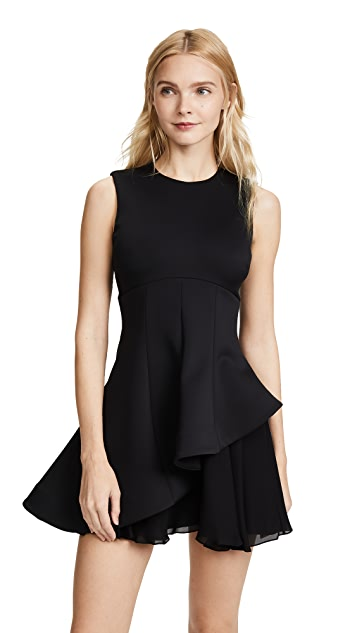 Cushnie Structured Fit & Flare Dress