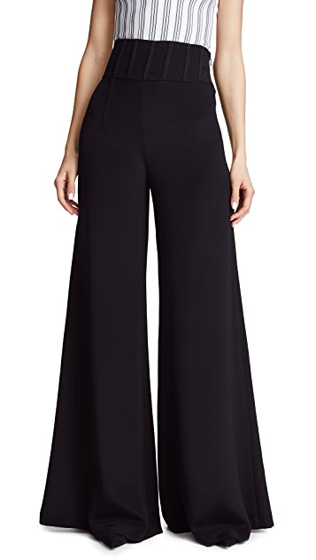 Cushnie Et Ochs Jade High Waisted Pants