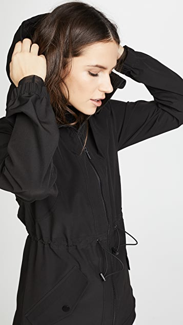 Cushnie Et Ochs Ophilie Hooded Jacket