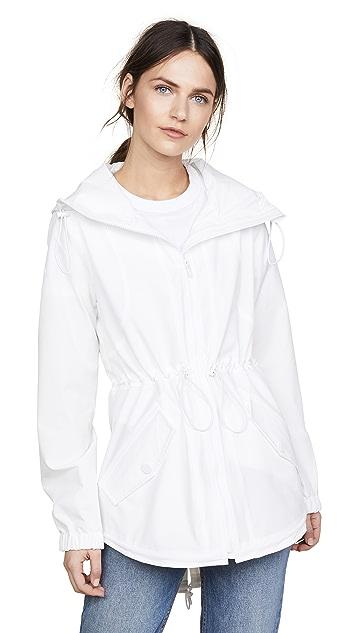 Cushnie Ophilie Hooded Jacket