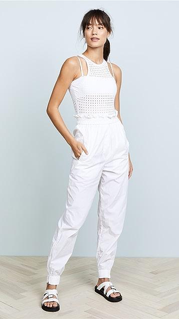 Cushnie Et Ochs Violette Perforated Bodysuit