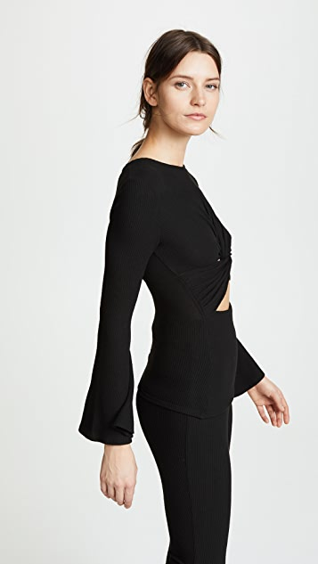 Cushnie Margaux Lounge Top