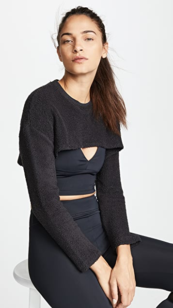 Cushnie Et Ochs Nicolette Cropped Sweatshirt