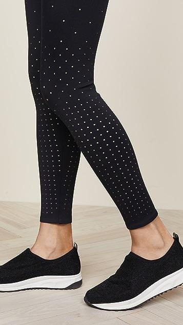 Cushnie Annabelle Perforated Leggings