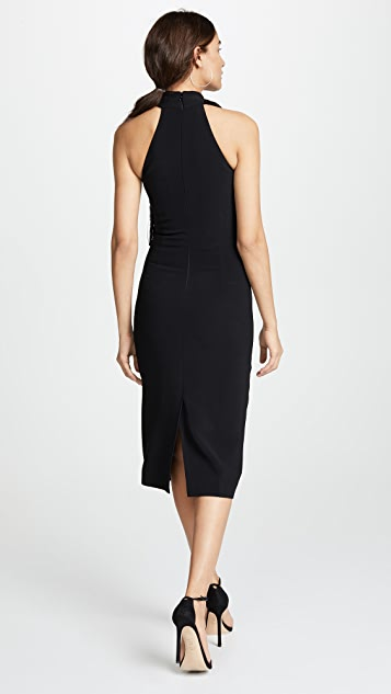 Cushnie Et Ochs Pencil Dress with Fringe