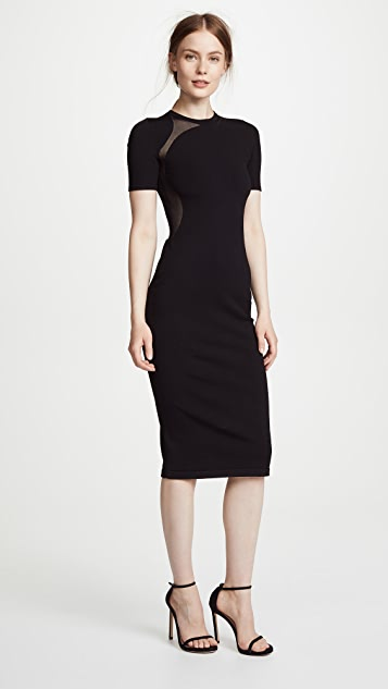 Cushnie Et Ochs Dress with Sheer Cutout