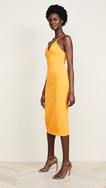 Cushnie Strappy Pencil Dress